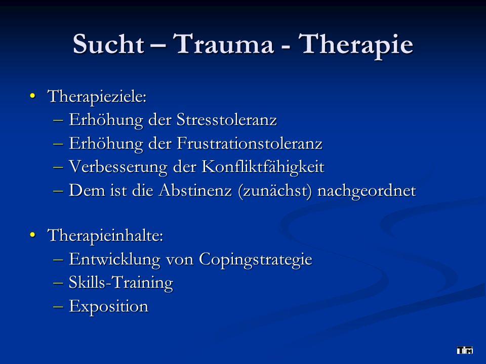 Sucht – Trauma - Therapie
