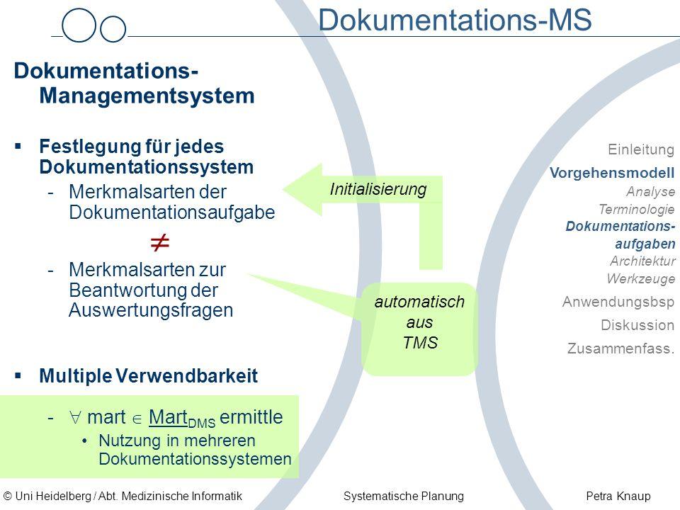 Dokumentations-MS Dokumentations-Managementsystem