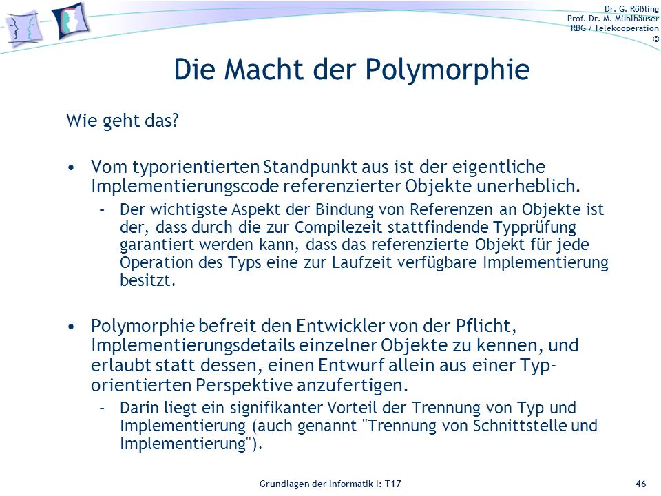 Die Macht der Polymorphie