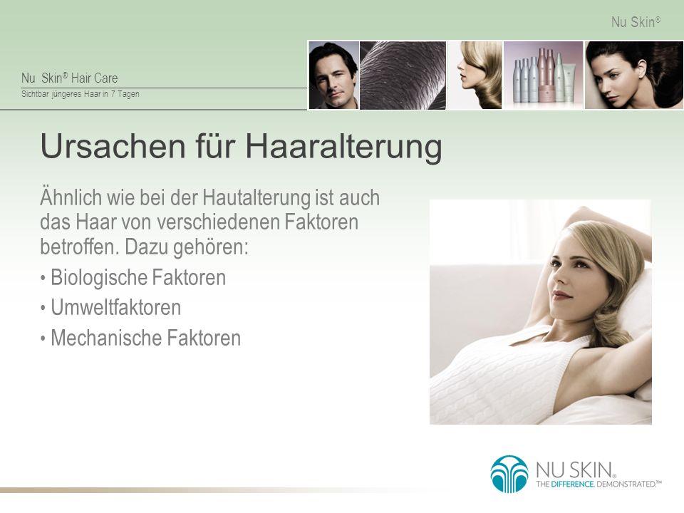 Ursachen für Haaralterung