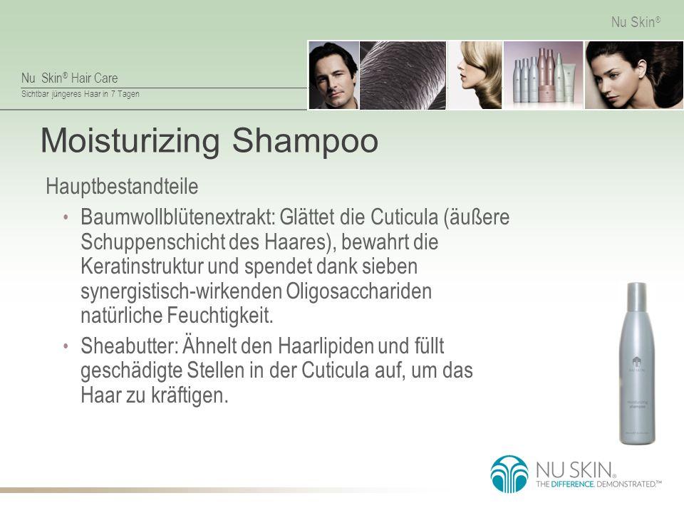 Moisturizing Shampoo Hauptbestandteile