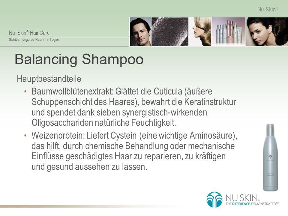 Balancing Shampoo Hauptbestandteile