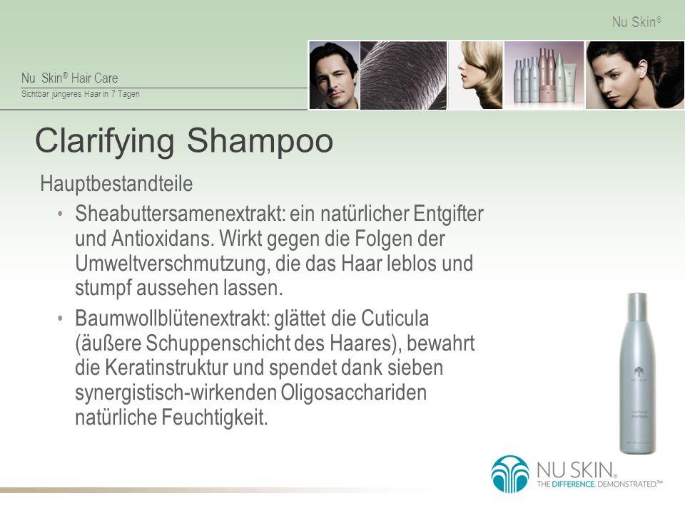 Clarifying Shampoo Hauptbestandteile