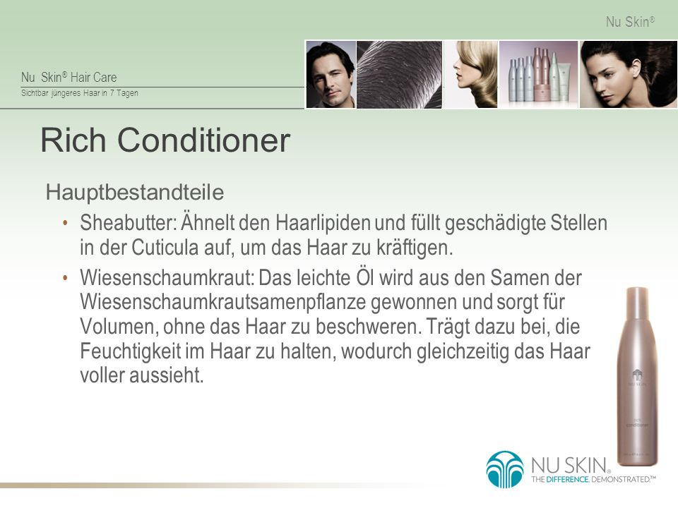 Rich Conditioner Hauptbestandteile