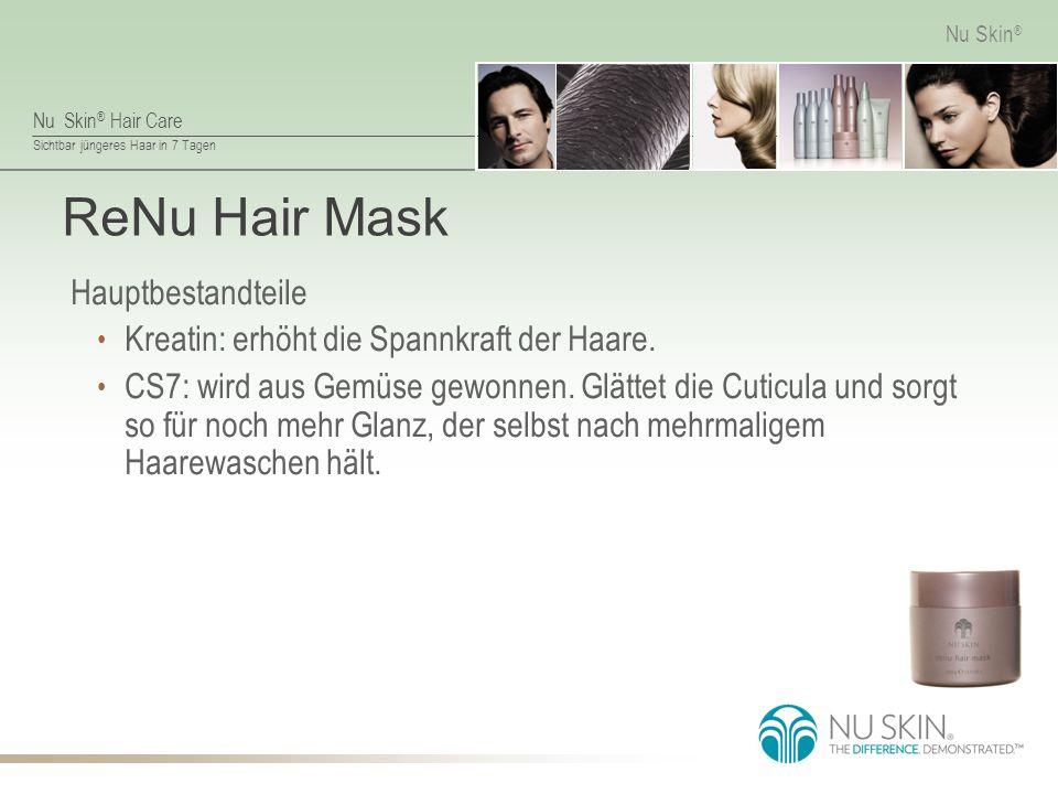 ReNu Hair Mask Hauptbestandteile