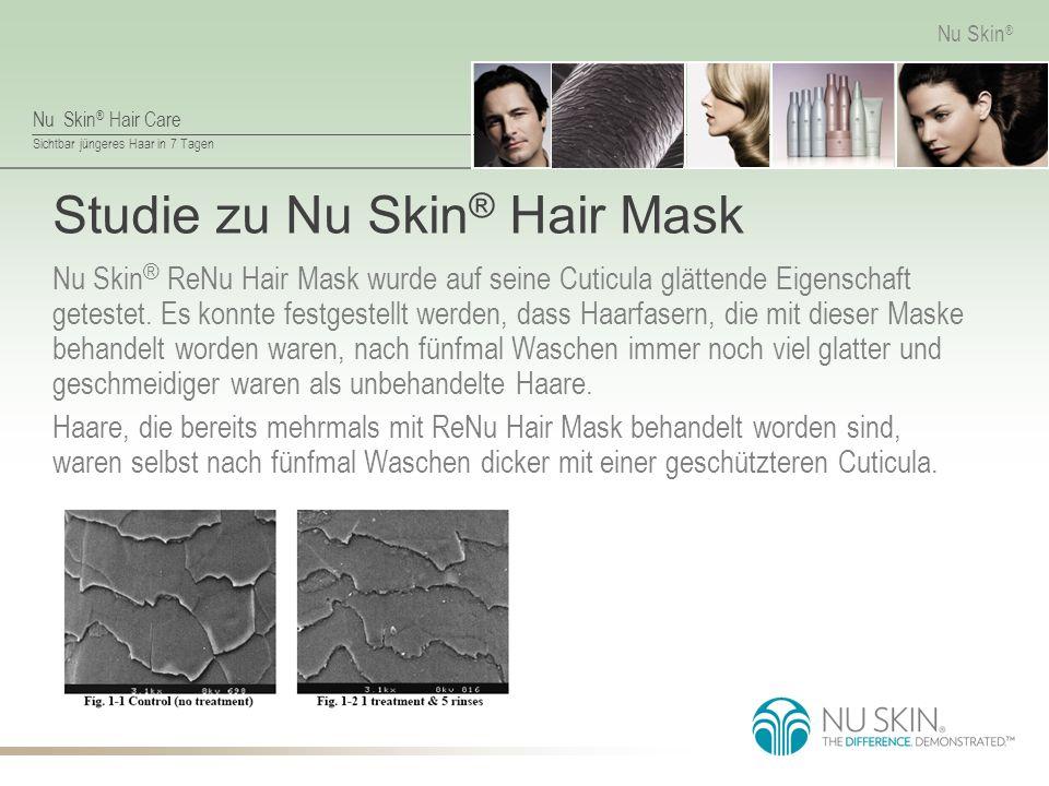 Studie zu Nu Skin® Hair Mask