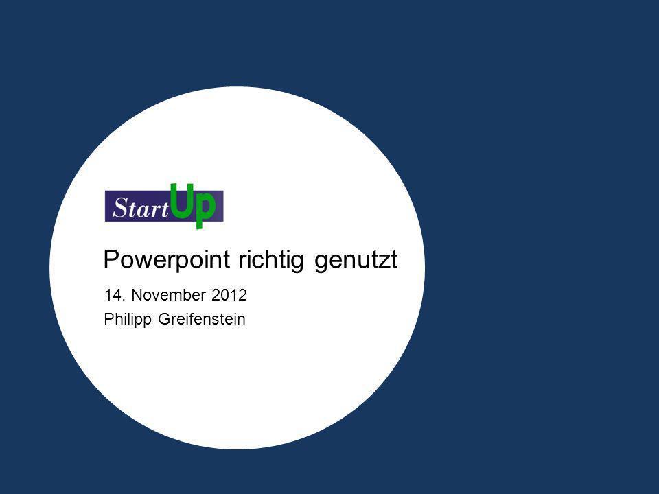 Powerpoint richtig genutzt