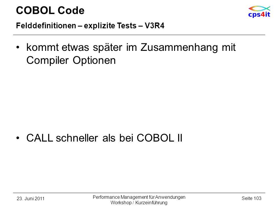 kommt etwas später im Zusammenhang mit Compiler Optionen