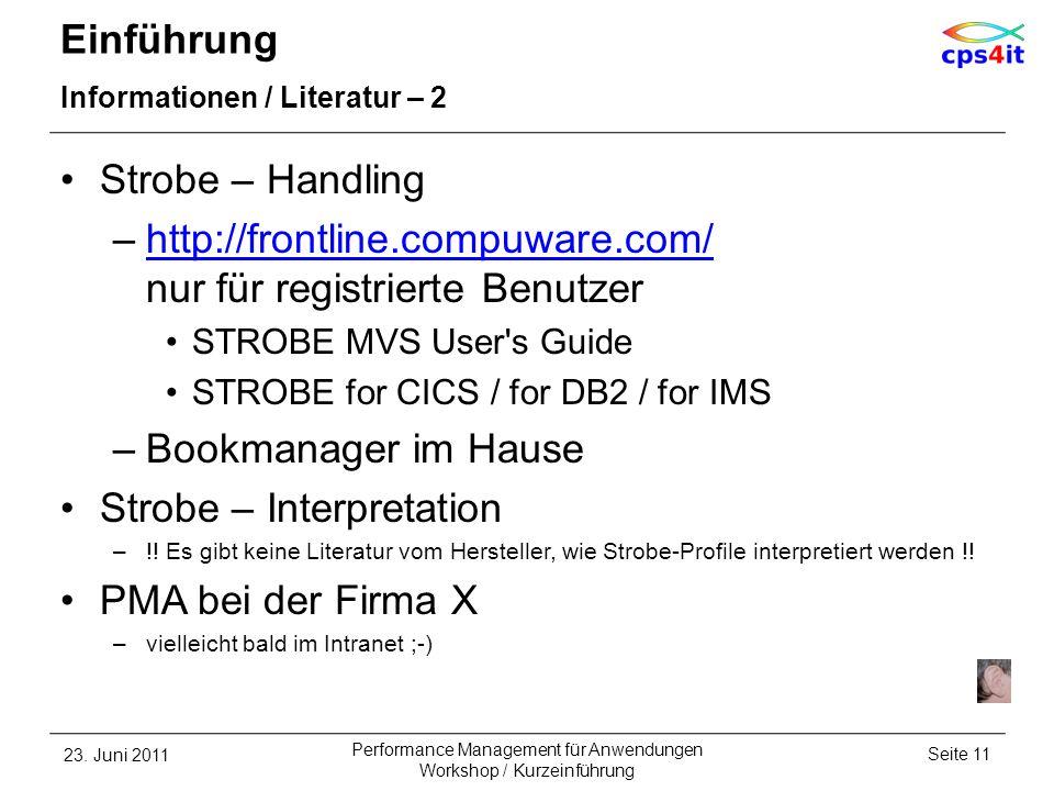 http://frontline.compuware.com/ nur für registrierte Benutzer