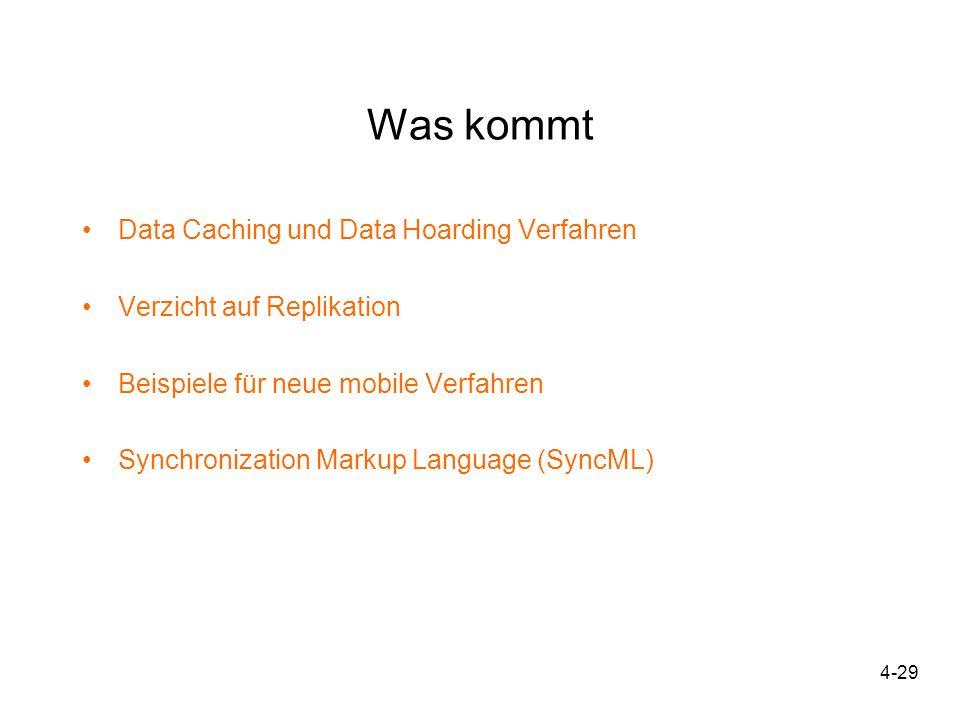 Was kommt Data Caching und Data Hoarding Verfahren