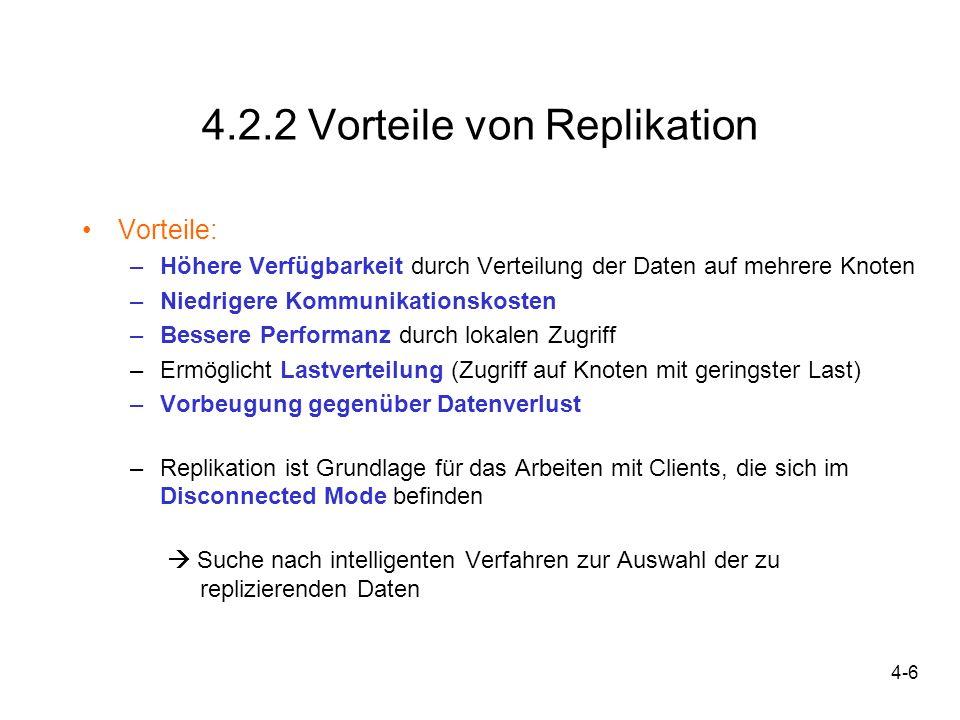4.2.2 Vorteile von Replikation