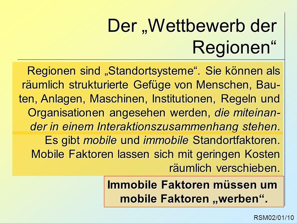 """Der """"Wettbewerb der Regionen"""