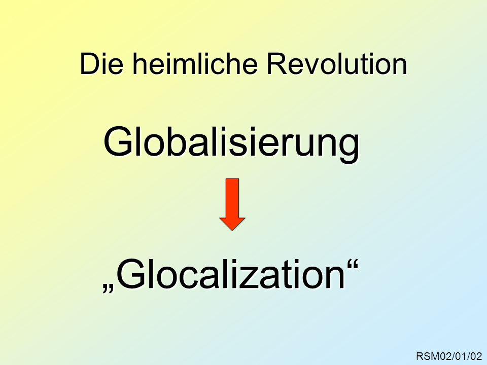 Die heimliche Revolution