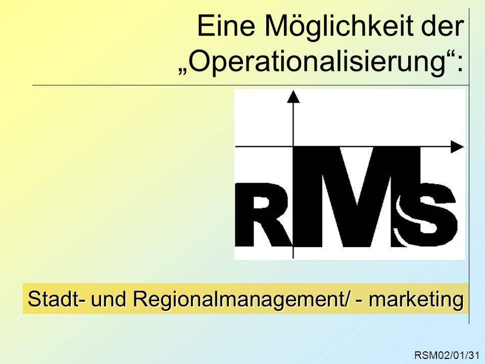 """Eine Möglichkeit der """"Operationalisierung :"""