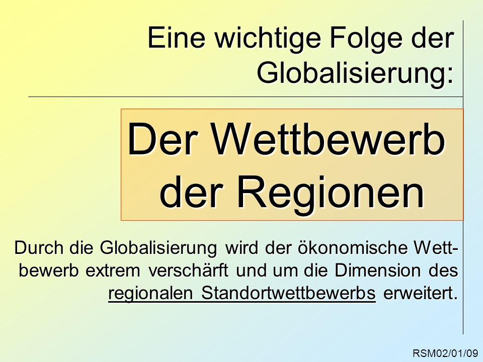 Eine wichtige Folge der Globalisierung:
