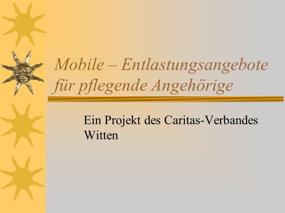 Mobile – Entlastungsangebote für pflegende Angehörige
