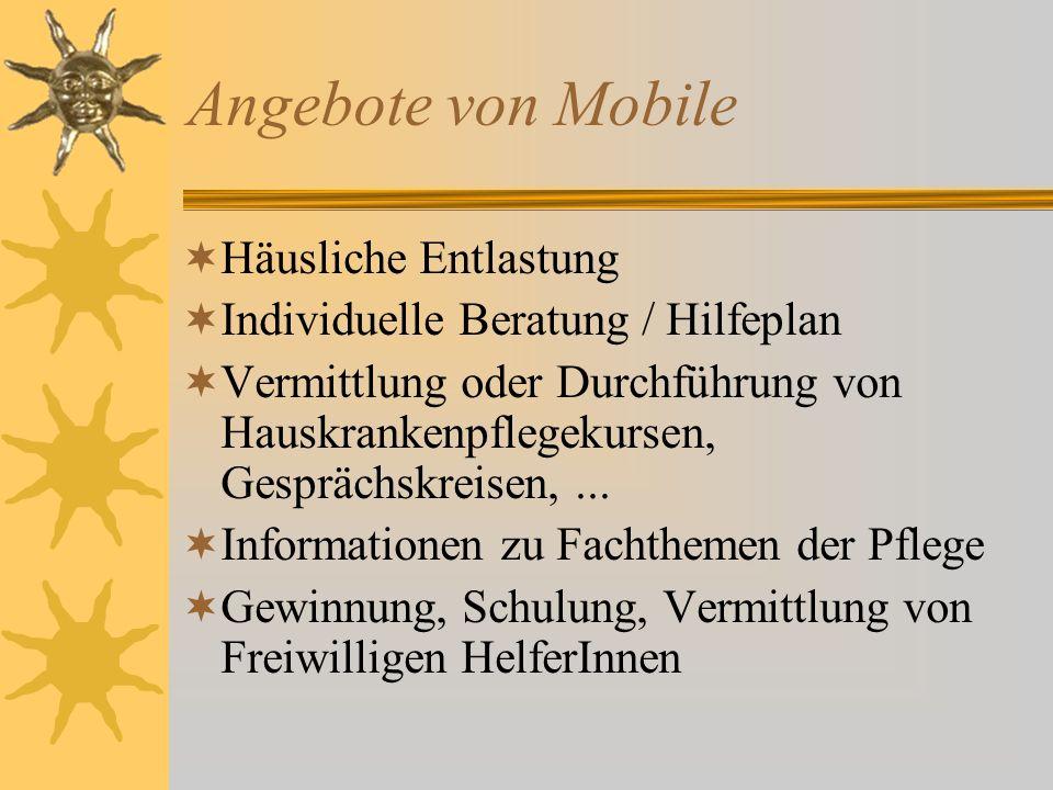 Angebote von Mobile Häusliche Entlastung