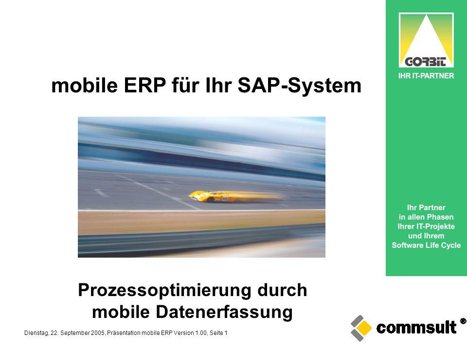 Prozessoptimierung durch mobile Datenerfassung