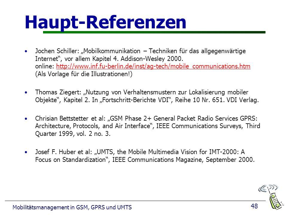 Haupt-Referenzen