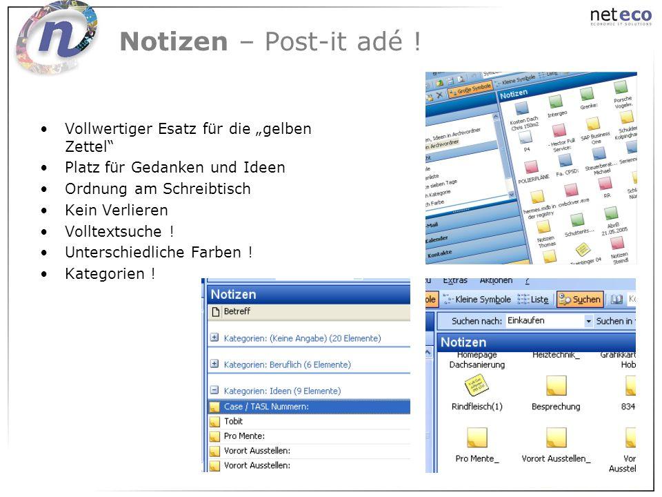 """Notizen – Post-it adé ! Vollwertiger Esatz für die """"gelben Zettel"""