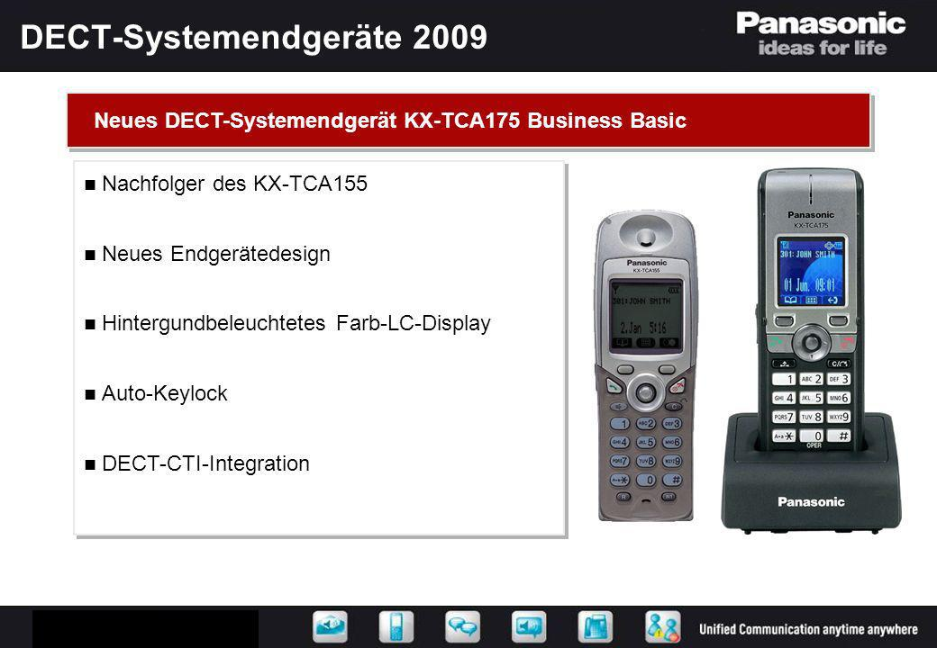 DECT-Systemendgeräte 2009