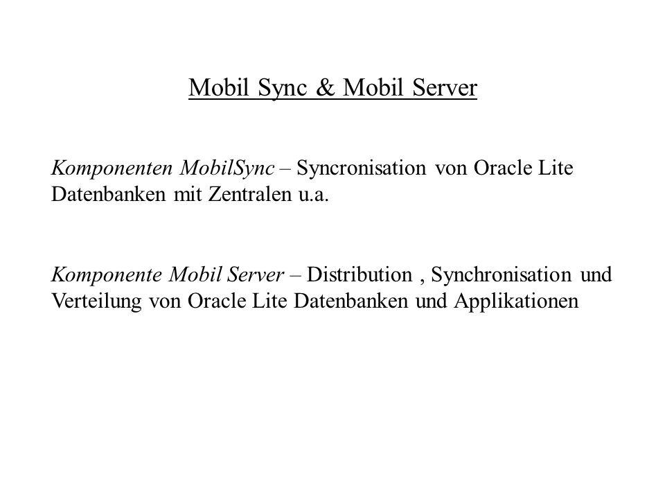 Mobil Sync & Mobil Server