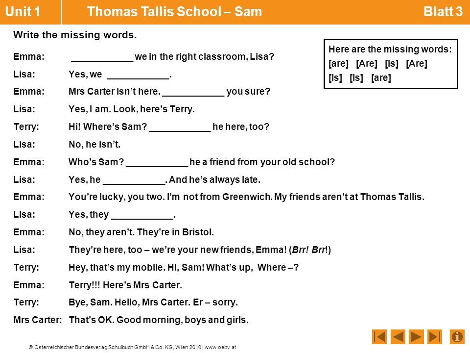 Unit 1 Thomas Tallis School – Sam Blatt 3