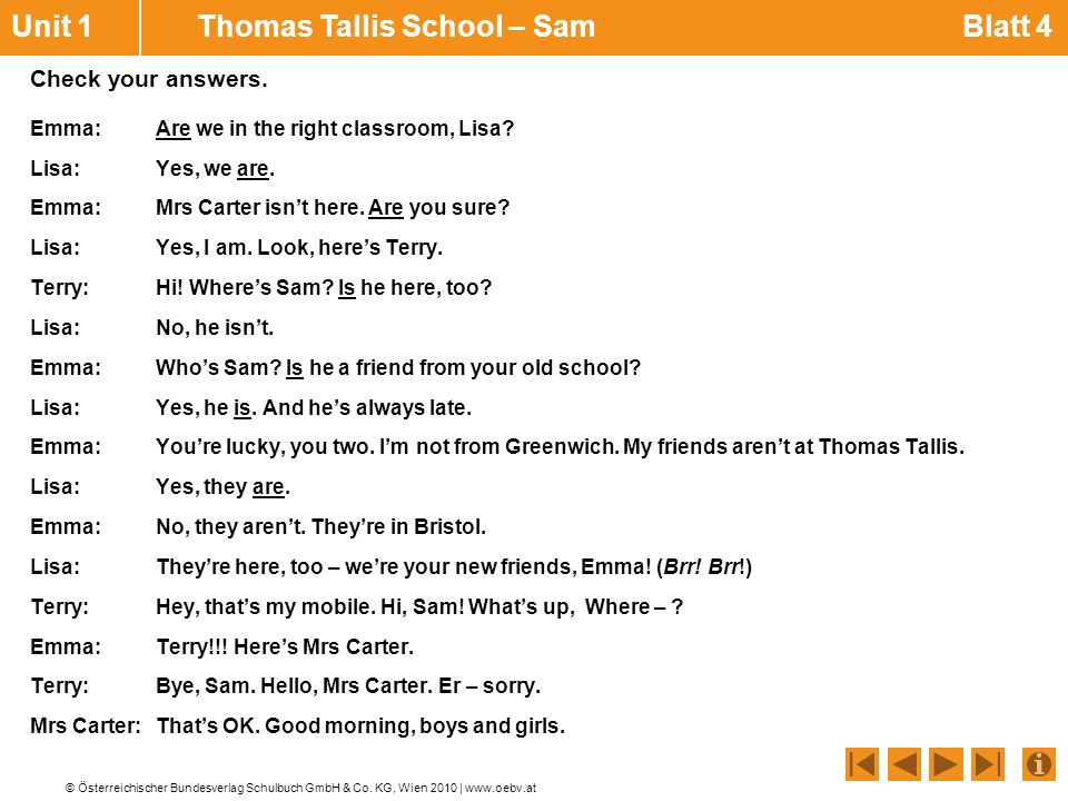 Unit 1 Thomas Tallis School – Sam Blatt 4