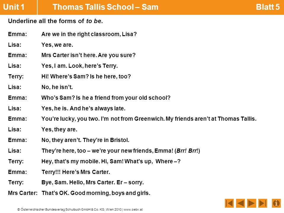 Unit 1 Thomas Tallis School – Sam Blatt 5