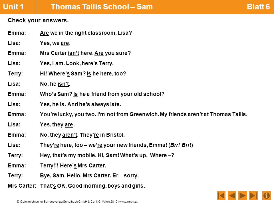 Unit 1 Thomas Tallis School – Sam Blatt 6
