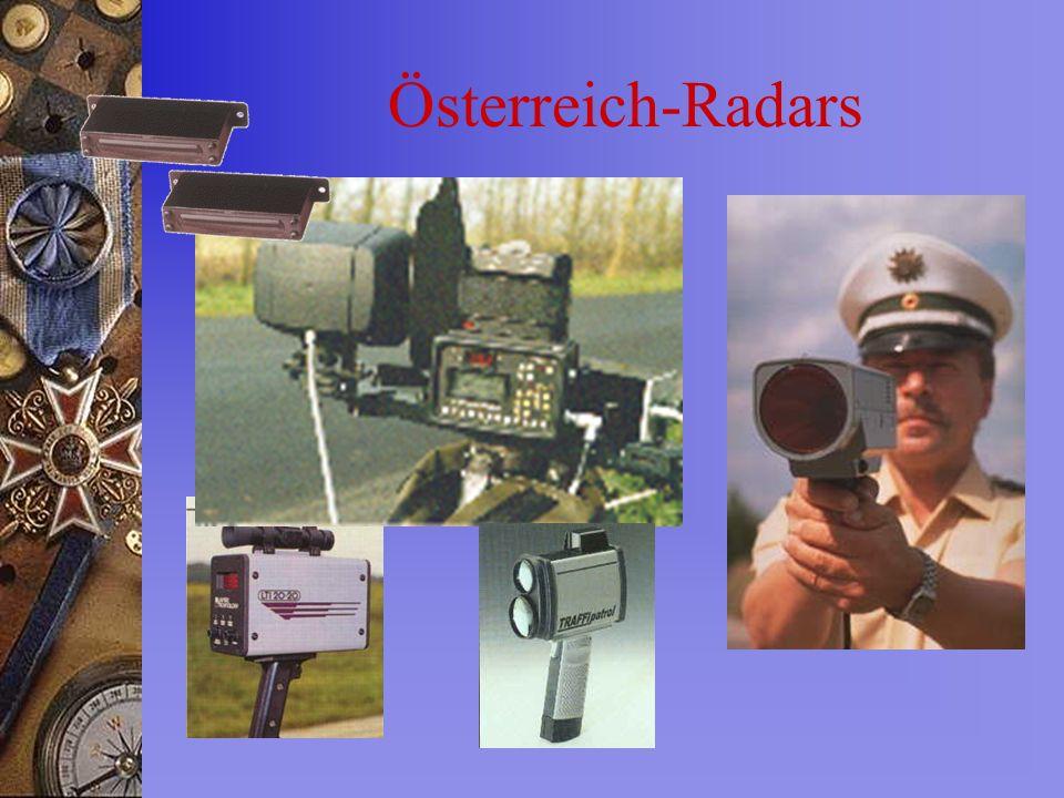 Österreich-Radars