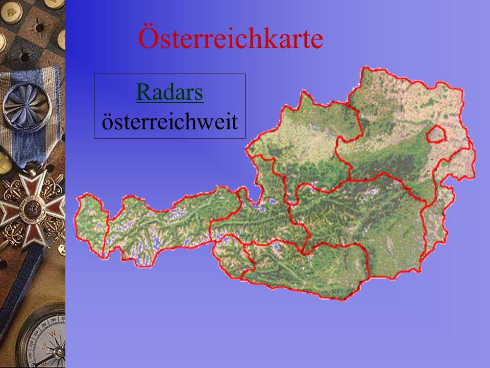 Radars österreichweit