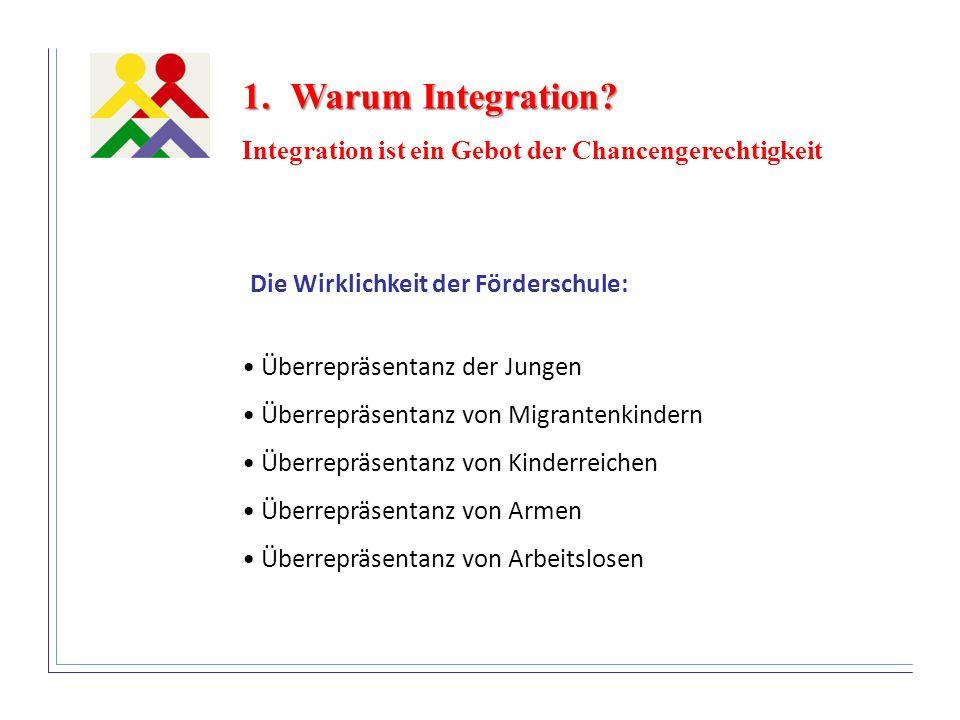 Warum Integration Integration ist ein Gebot der Chancengerechtigkeit