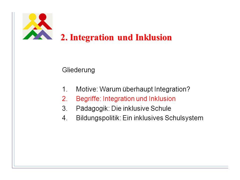 2. Integration und Inklusion