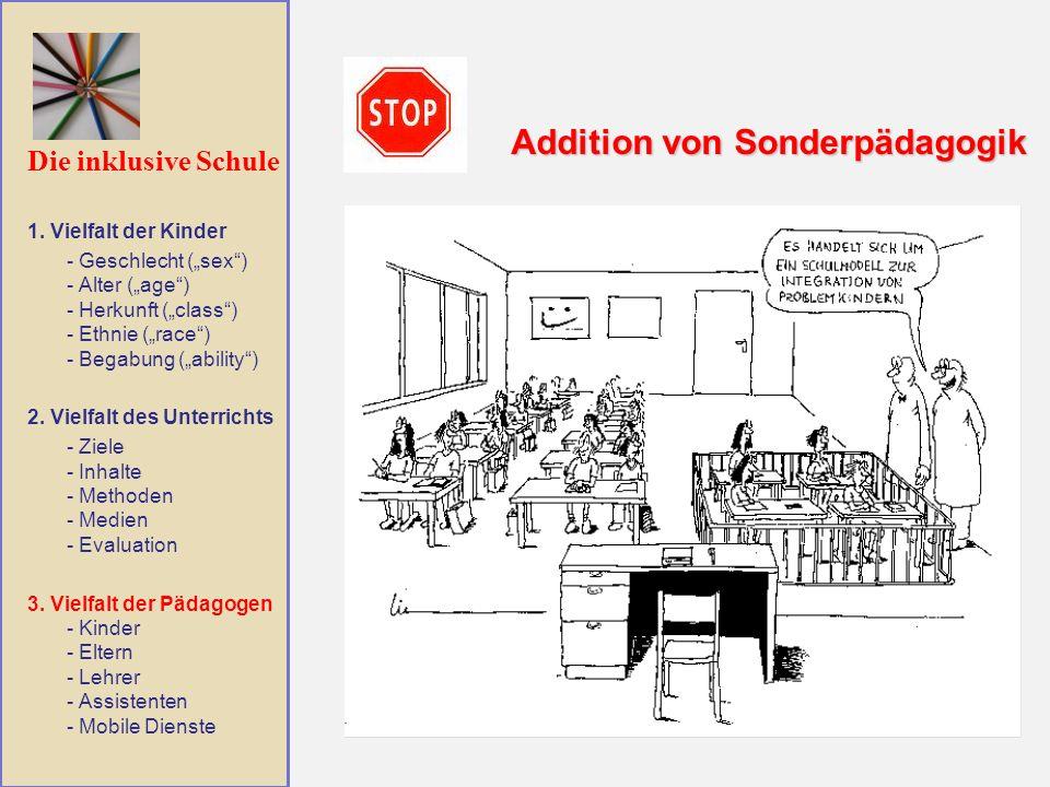 Addition von Sonderpädagogik
