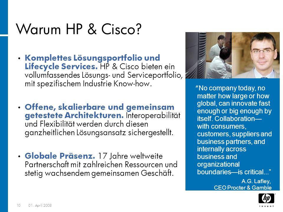 Warum HP & Cisco