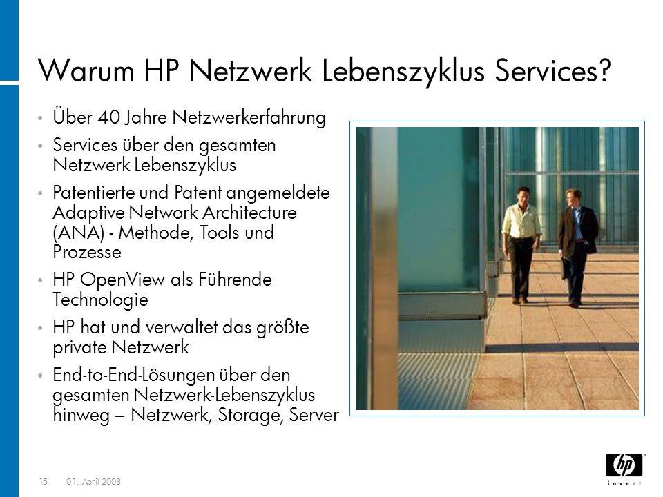 Warum HP Netzwerk Lebenszyklus Services