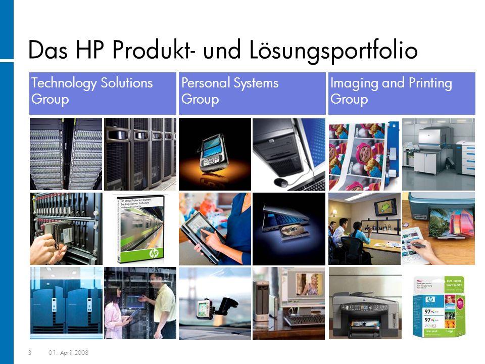 Das HP Produkt- und Lösungsportfolio