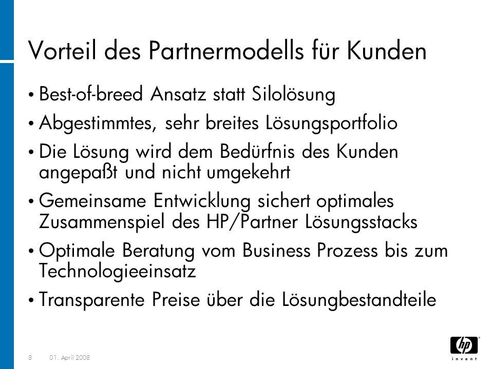Vorteil des Partnermodells für Kunden