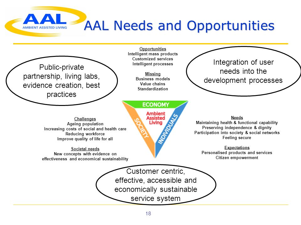 AAL Needs and Opportunities