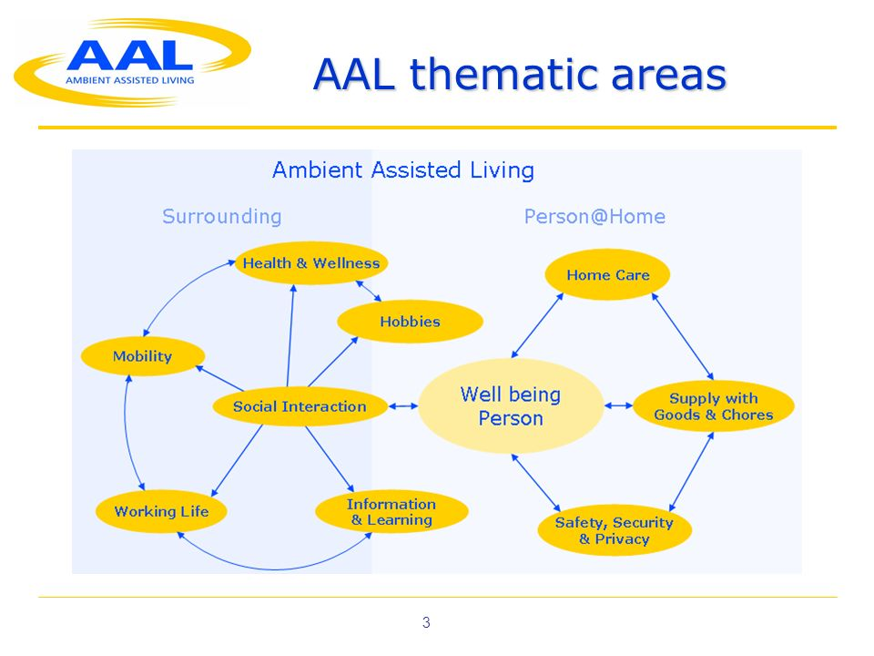 AAL thematic areas