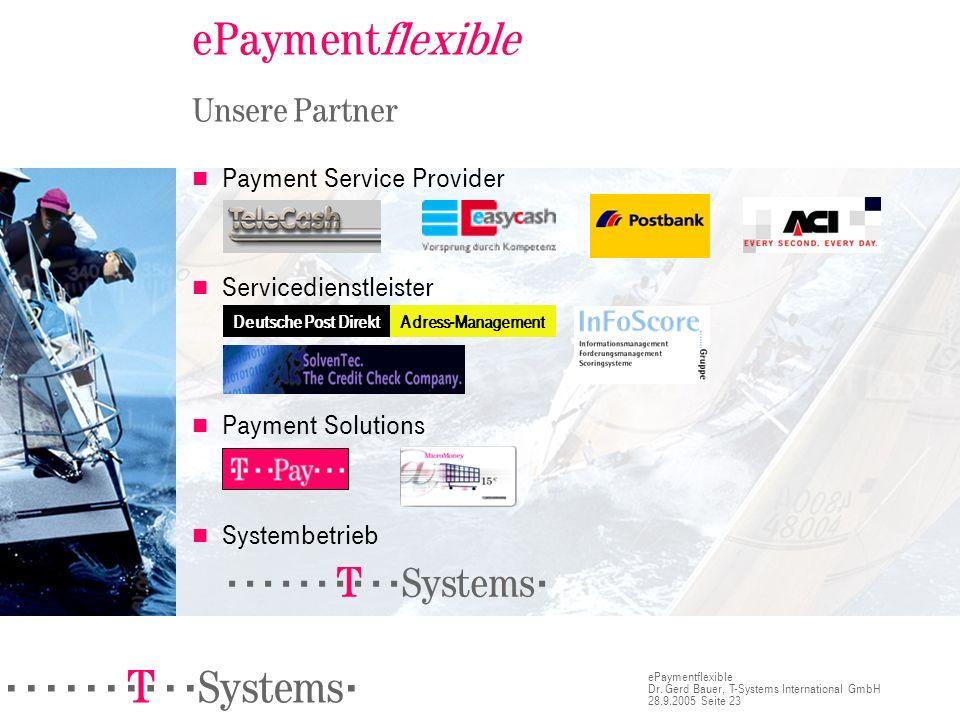 ePaymentflexible Unsere Partner