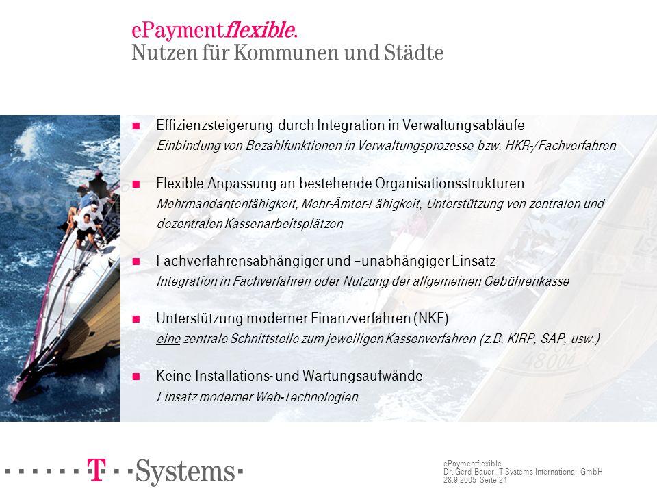 ePaymentflexible. Nutzen für Kommunen und Städte