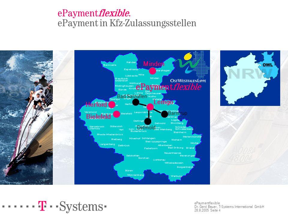 ePaymentflexible. ePayment in Kfz-Zulassungsstellen