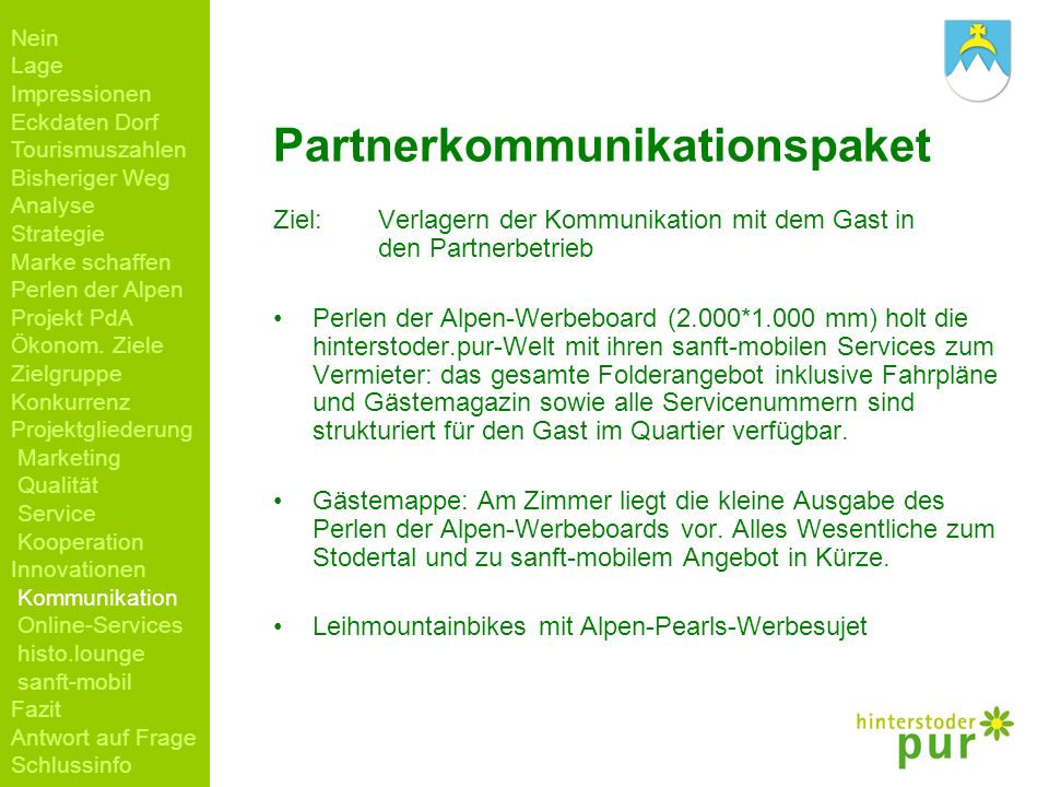 Partnerkommunikationspaket