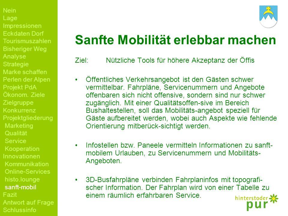 Sanfte Mobilität erlebbar machen