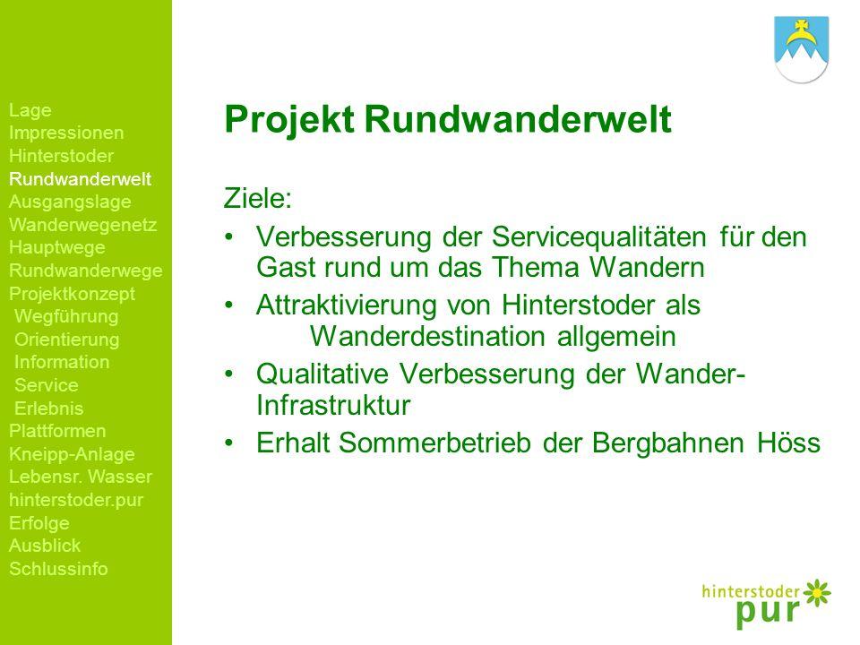Projekt Rundwanderwelt