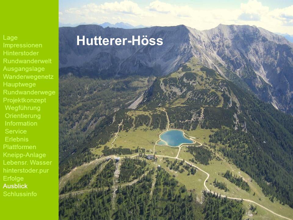 Hutterer-Höss Lage Impressionen Hinterstoder Rundwanderwelt