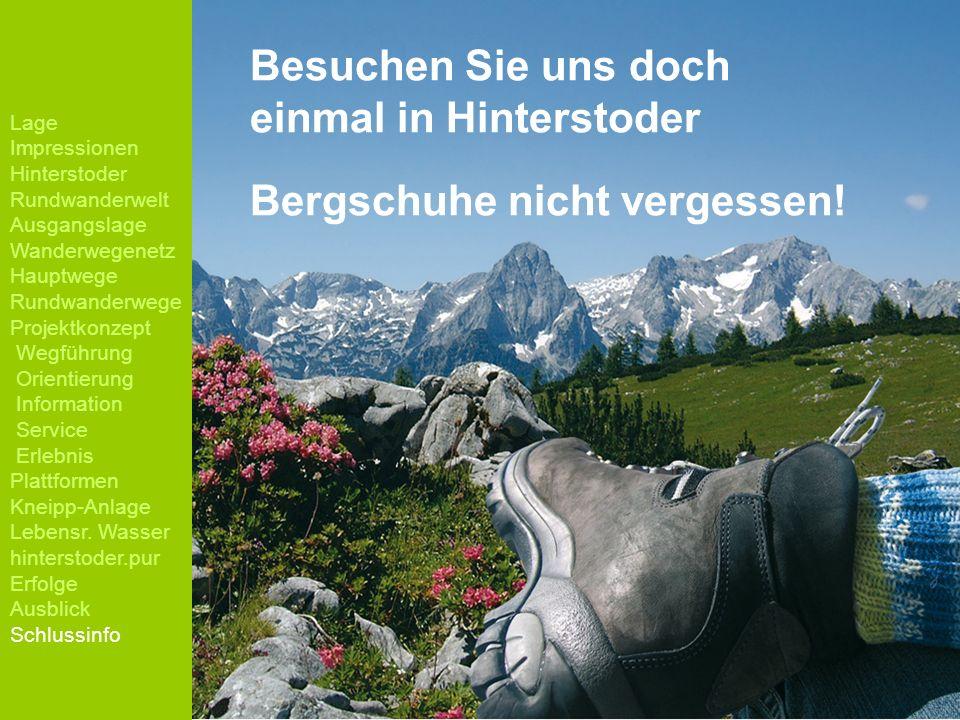 Besuchen Sie uns doch einmal in Hinterstoder Bergschuhe nicht vergessen!