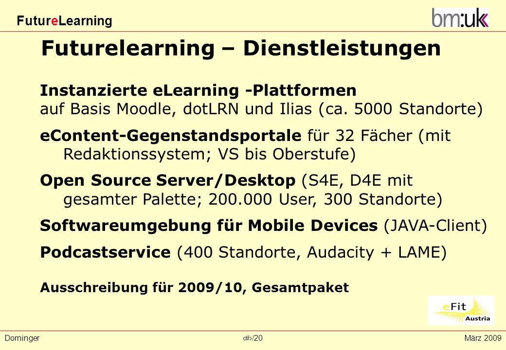 Futurelearning – Dienstleistungen